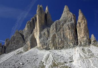 Die Postkarte der Drei Zinnen - Südtirol