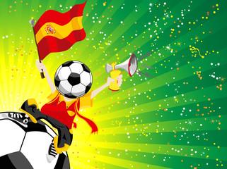 Spain Soccer Winner.