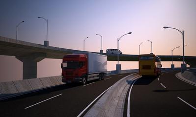 Freight machine