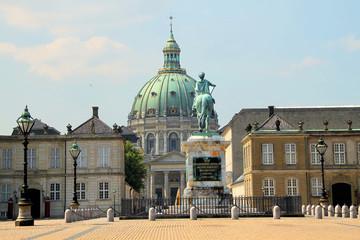 Amalienborg und Frederikskirche