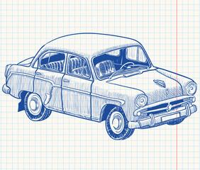 Retro soviet union car, part 2