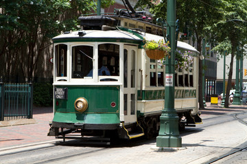 Electric Trolley Car