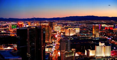 Fotobehang Las Vegas Las Vegas City Skyline panorama