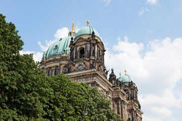 the Berliner Dom in Berlin