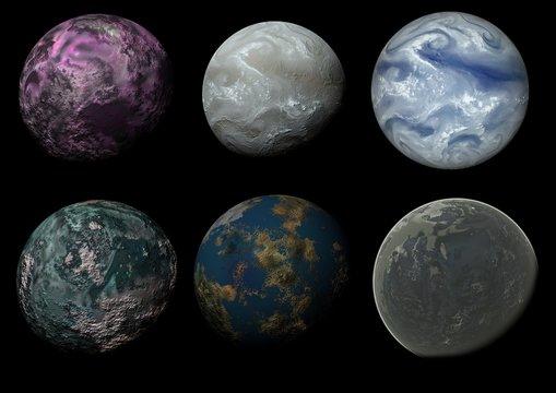 Six worlds