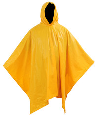 Raincoat. Isolated