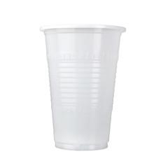 the plastic mug