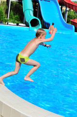 jump to pool