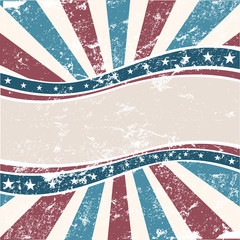 Old Colors American Wave in grunge style