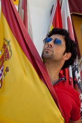 Español con bandera de España