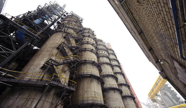 metallurgical high furnace