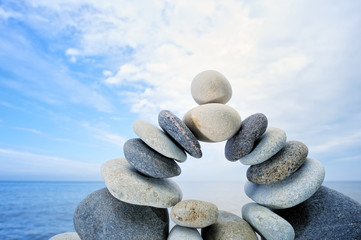 Stones bending