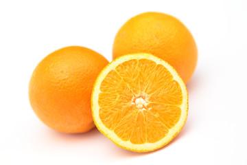 Hälfte einer Orange
