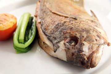 pan fried fish food