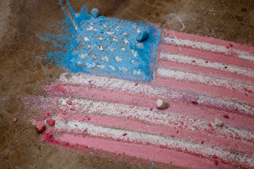 Concrete Flag