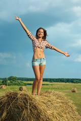 girl  on traw bail