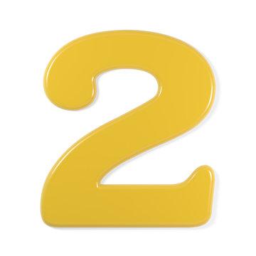 yellow font - 2