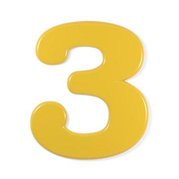 yellow font - 3
