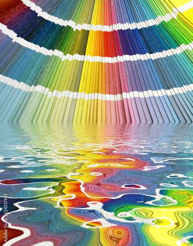 Harmonies teintes couleurs nuancier palette chromatique - Palette chromatique des couleurs ...