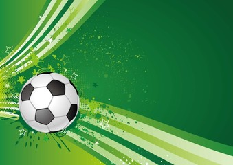 soccer sport,green background