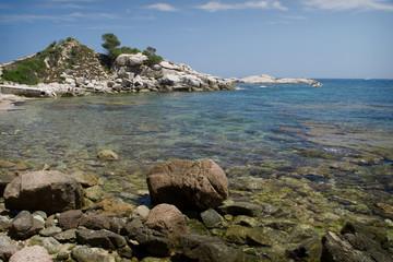 cala estreta (costa Brava, Girona)