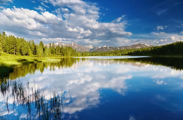Poster Lac / Etang Mountain lake