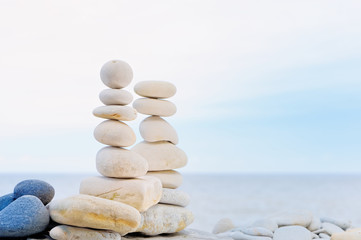 Balance in white