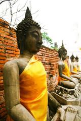 Buddha Image Ayudhya Thailand