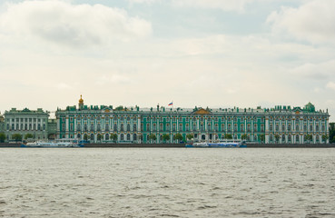 Hermitage view from Neva river