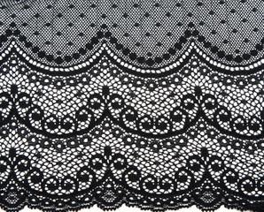 Decorative black lace