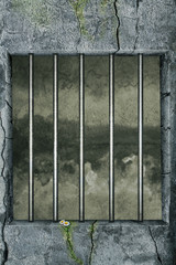 Leere Gefängniszelle