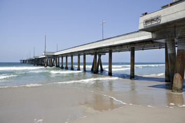 Venice Pier in Soutern California
