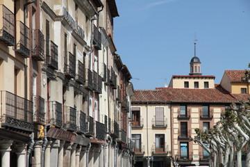 Cervantes square Alcala de Henares  Madrid province Spain