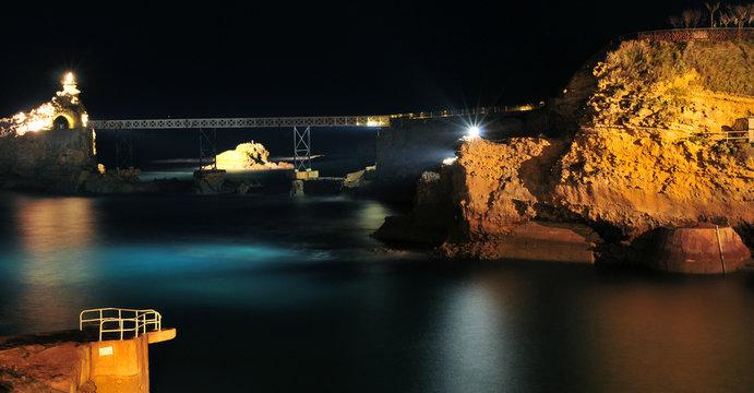Nuit sur la mer