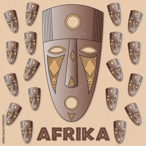 afrikanische masken stockfotos und lizenzfreie vektoren. Black Bedroom Furniture Sets. Home Design Ideas