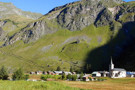 hameau de montagne