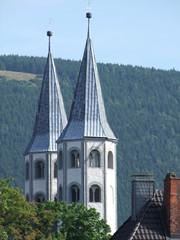 Kirchtürme in Goslar