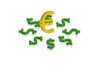 dollar e euro