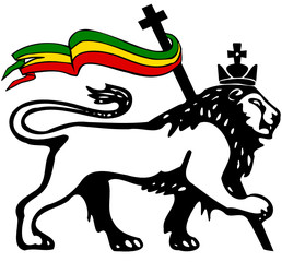 lion of haile selassie
