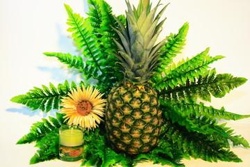 ananas und entspannung