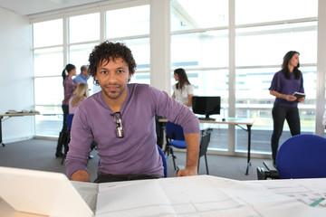 Etudiant en école d'architecture