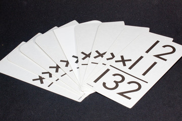 Mulitiplication Flash Cards