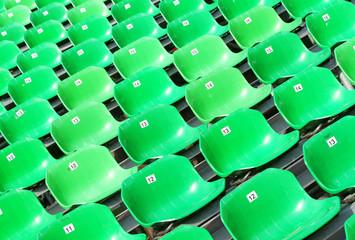 Sitzreihen grün - Seats green