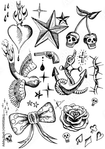 rockabilly tattoos\