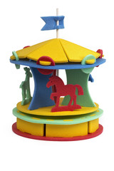 3D puzzle - circus