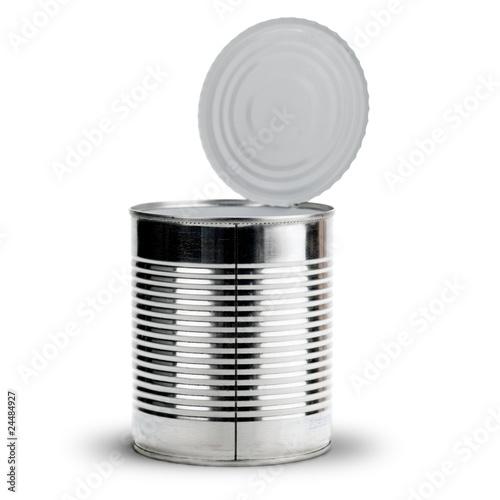 Image bo te de conserves vide sur un fond blanc - Acheter boite de conserve vide ...
