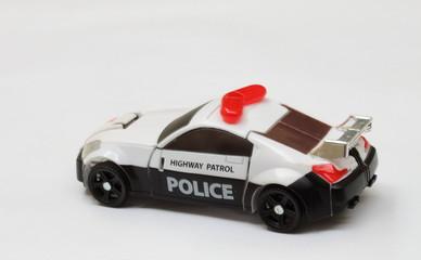 scale police car model