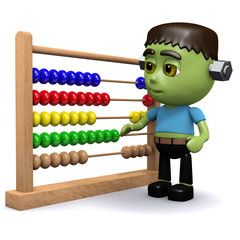 3d Frankenstein with Abacus