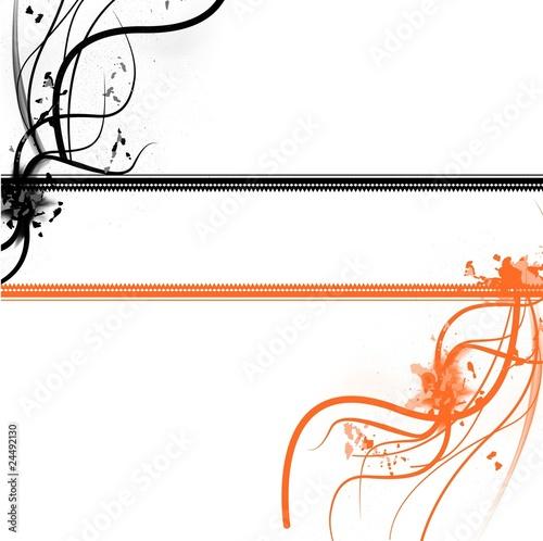 fond cadre noir orange photo libre de droits sur la banque d 39 images image 24492130. Black Bedroom Furniture Sets. Home Design Ideas