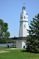 White Brick Lighthouse